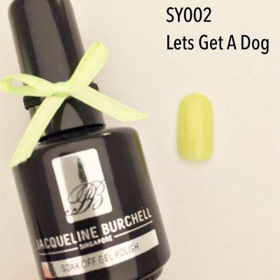 【セルフネイルに簡単!】カラージェル SY002 Let's Get A Dog