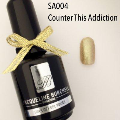 【セルフネイルに簡単!】カラージェル SA004 Counter This Addiction