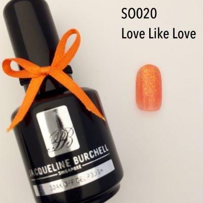 【セルフネイルに簡単!】カラージェル SO020 Love Like Love