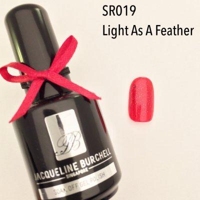 【セルフネイルに簡単!】カラージェル SR019 Light As A Feather