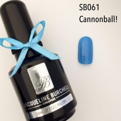 【セルフネイルに簡単!】カラージェル SB061 Canonball!