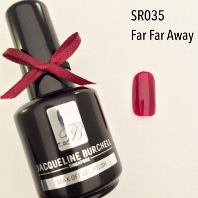 【セルフネイルに簡単!】カラージェル SR035 Far Far Away