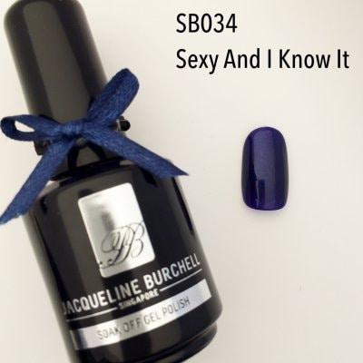 【セルフネイルに簡単!】カラージェル SB034 Sexy And I Know It