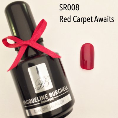 【セルフネイルに簡単!】カラージェルSR008 Red Carpet Awaits