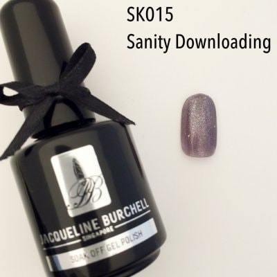 【セルフネイルに簡単!】カラージェル SK015 Sanity Downloading