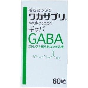 ストレス社会で頑張る方に!リフレッシュサプリ!GABA(ギャバ)60粒 ワカサプリ メンタルへ 人気のケアサプリ