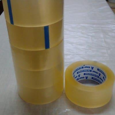 梱包用OPPテープ 52μ・48mmx100m巻・透明 1本【5巻入】