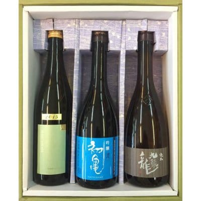 ギフト(日本酒720ml 3本セット)