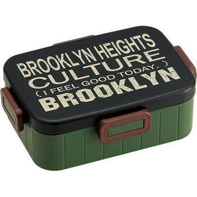 【ブルックリンスタイル】スケーター 4点ロックランチボックス YZFL9 (弁当箱)