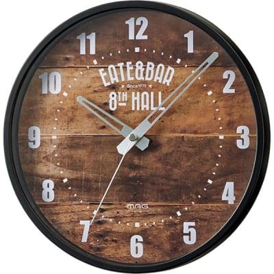 【ブルックリンスタイル】インテリア掛時計「MAG ウォールクロック」