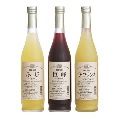 りんご村からのおくりもの 信州産フルーツジュース詰合せ MW-3