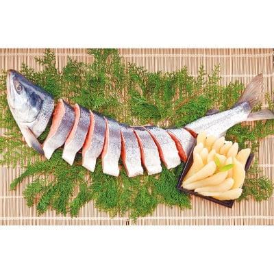 【お歳暮にピッタリ】北海道産 新巻鮭・数の子 セット