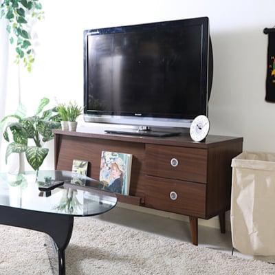 アルト TVボード 幅120cm ダークブラウン