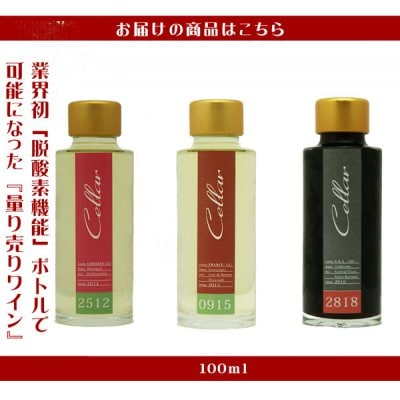 【SP6613】「チーズ」に合うプチワインセット(A)(100ml×3本)<セット内容>【25】  ホッホハイマー...