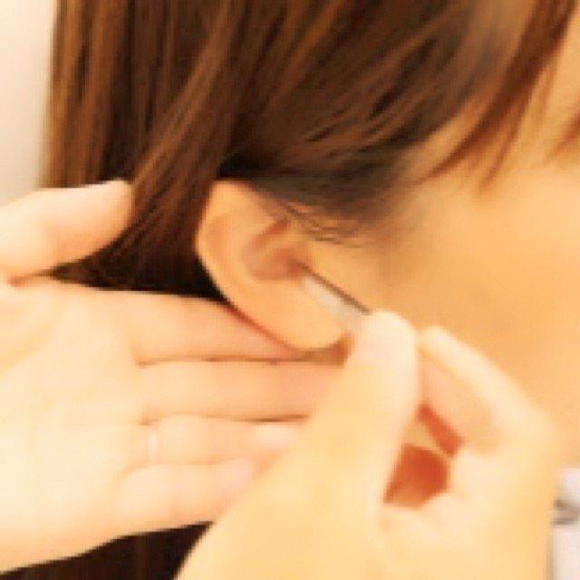 耳つぼ施術チケット(クリアシール4粒、2000円)のイメージその1