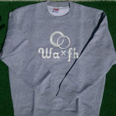Wa×fh ロゴ スウェット