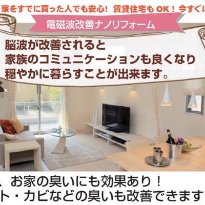 ナノセラミックス塗装 電磁波改善ナノリフォーム 家の電磁波対策に!