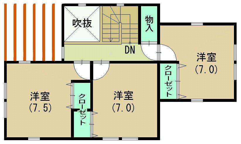 健康住宅バースデー(子育て電磁波対策住宅)30坪 神奈川注文住宅のイメージその3