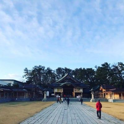 新潟県護国神社清掃奉仕