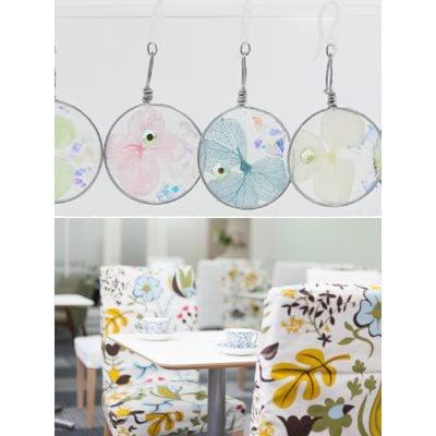 【ワークショップ】紫陽花の手作り体験・お茶お菓子付き