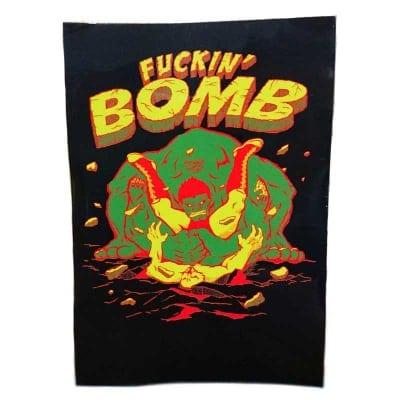 【ステッカー】FUCKIN'BOMB