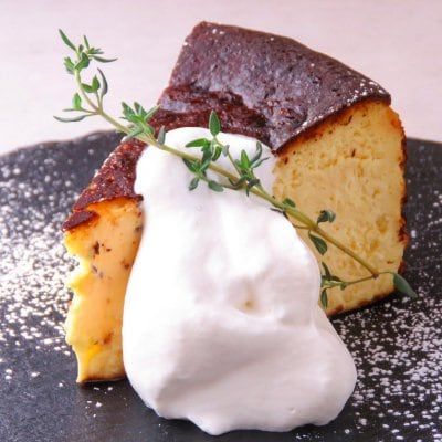 6号(約6~8人分)バスクチーズケーキ