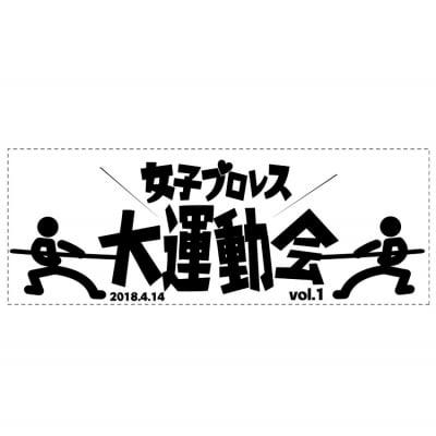 女子プロレス大運動会応援タオル!
