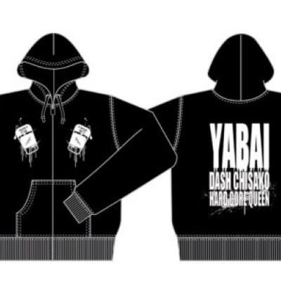 DASH・チサコ YABAI!パーカー