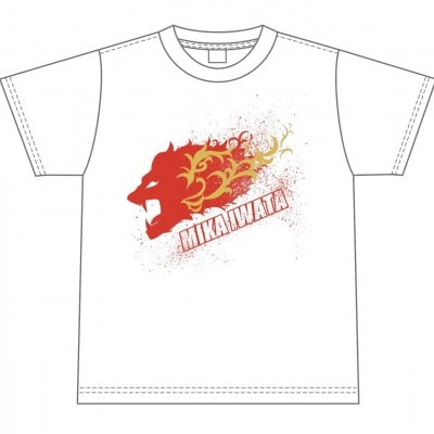 岩田美香 蹴撃復活Tシャツ Lサイズ