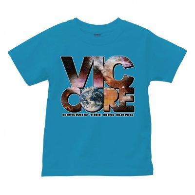 viccore 宇宙ロゴTシャツ turquoise