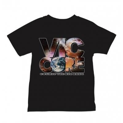 viccore 宇宙ロゴTシャツ BLACK