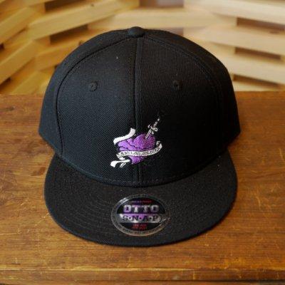 viccore バビロンハートキャップ BLACK/Purple