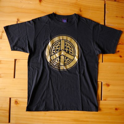 viccore ピースマークTシャツ BLACK
