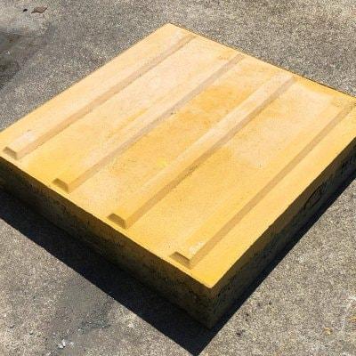 点字平板(線) 視覚障害者誘導用ブロック 誘導表示 コンクリート2...