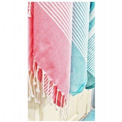 【海外で大人気!】オールマイティに使える薄手の平織り大判トルコタオル、ペシテマル 2枚セット 送料無料!