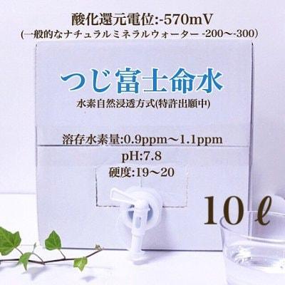 【講演会ご参加者様価格】つじ富士命水/水素水10L