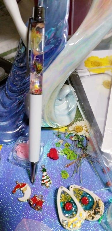 押し花で手作り、イヤリング。ピアス、ネックレスを作ろう!東京葛飾区初心者でも可愛く作れる!プレゼントにもおすすめのイメージその3