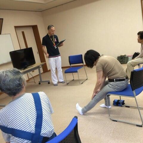 柔道整復師が行う健康体操教室のイメージその3