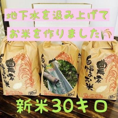 兵庫県産【コシヒカリ】こだわりの米(30㎏)整骨院の先生が水にこだわり...