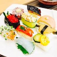 【店頭払いのみ】おうちで出来るVegeCafe ごはん やさいで彩る七夕Vege寿司ランチ