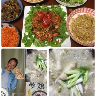 【店頭払いのみ】夏はやっぱりサムゲタン‼️韓国料理教室♪