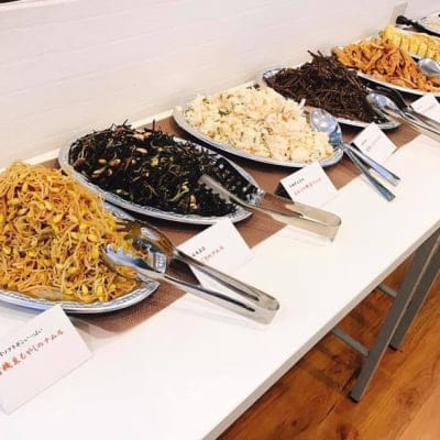 【店頭払いのみ】【韓国料理教室1周年記念感謝祭】♡おもてなし韓国料理バイキング♡お土産付!