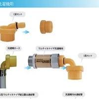 環境にも優しい水素水生成器 洗濯機用浄水器
