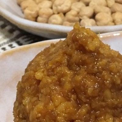 【店頭払いのみ】ひよこ豆の味噌仕込みワークショップ