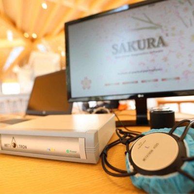 ∞8月 まるで未来の人間ドック ∞メタトロン(SAKURA)測定会