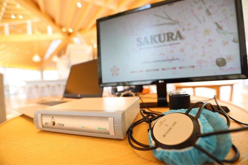 【店頭払いのみ】∞ まるで未来の人間ドック ∞メタトロン(SAKURA)測定会のイメージその2