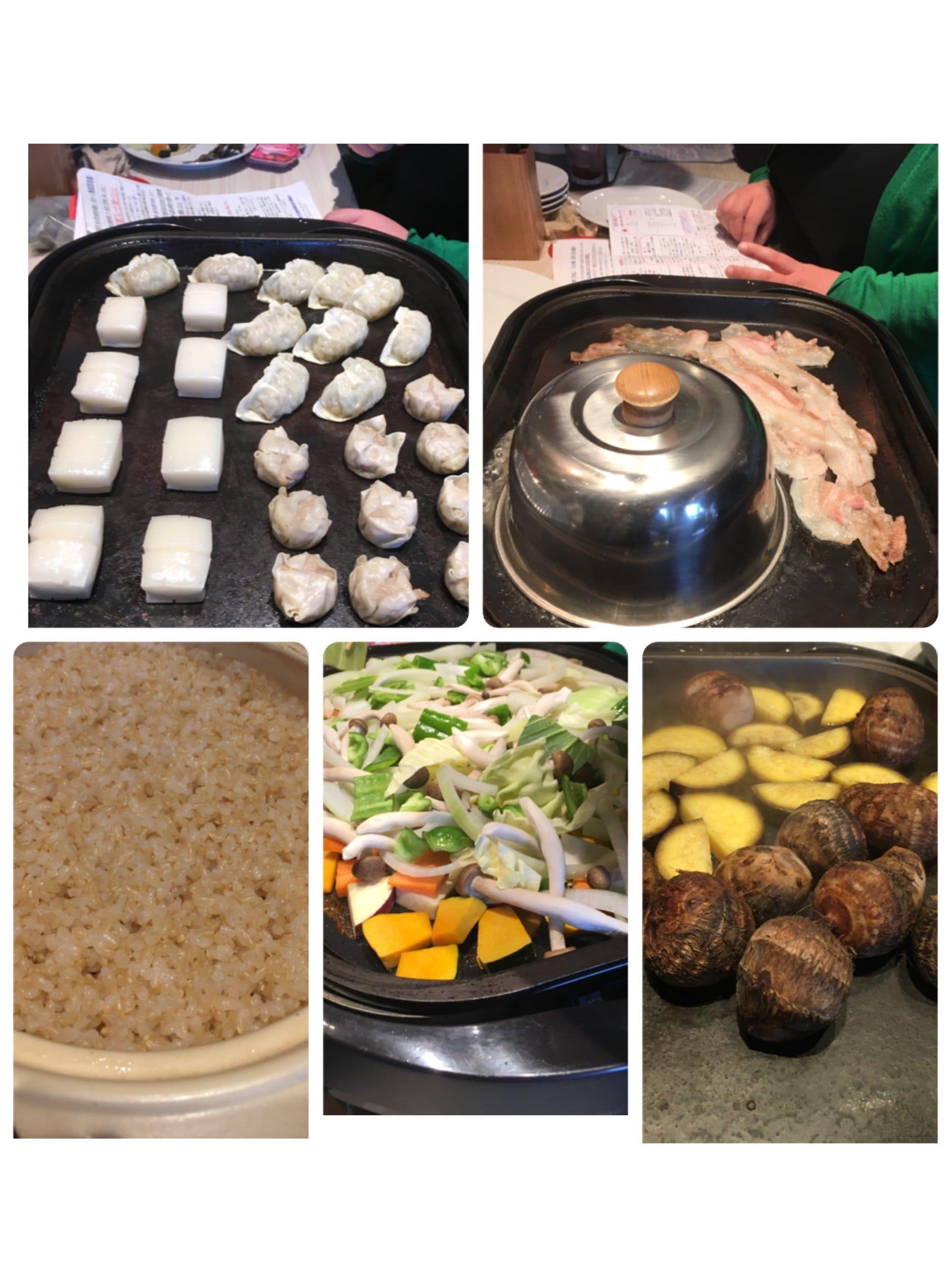 【現地払いのみ】ダーシェンカ超遠赤石焼体験 料理試食会のイメージその1