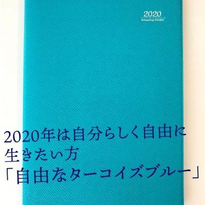 【SQ教育の実践に最適!】アイアイ手帳 Amazing DIARY 2020(ターコイズ...