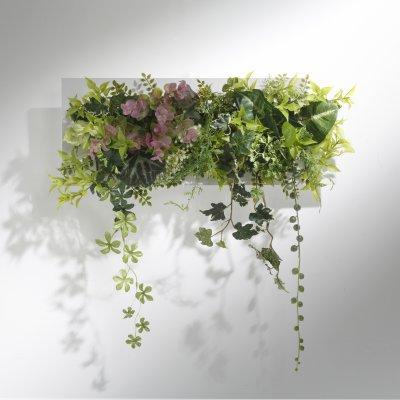 グリーンウォール アーティフィシャルフラワー(造花)壁掛けタイプ