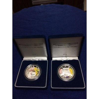 東京2020オリンピック&パラリンピック競技大会記念 千円銀貨幣プルーフ貨幣セット     2セット